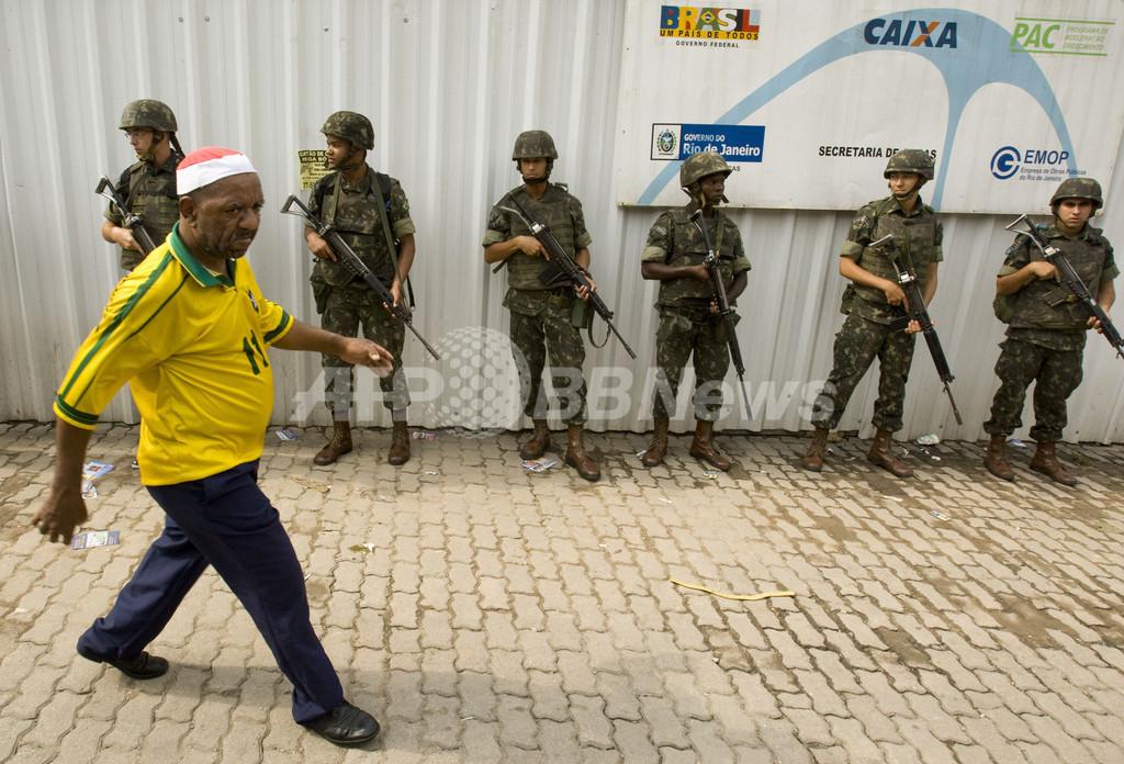 大荒れブラジル地方選、7人死亡808人逮捕