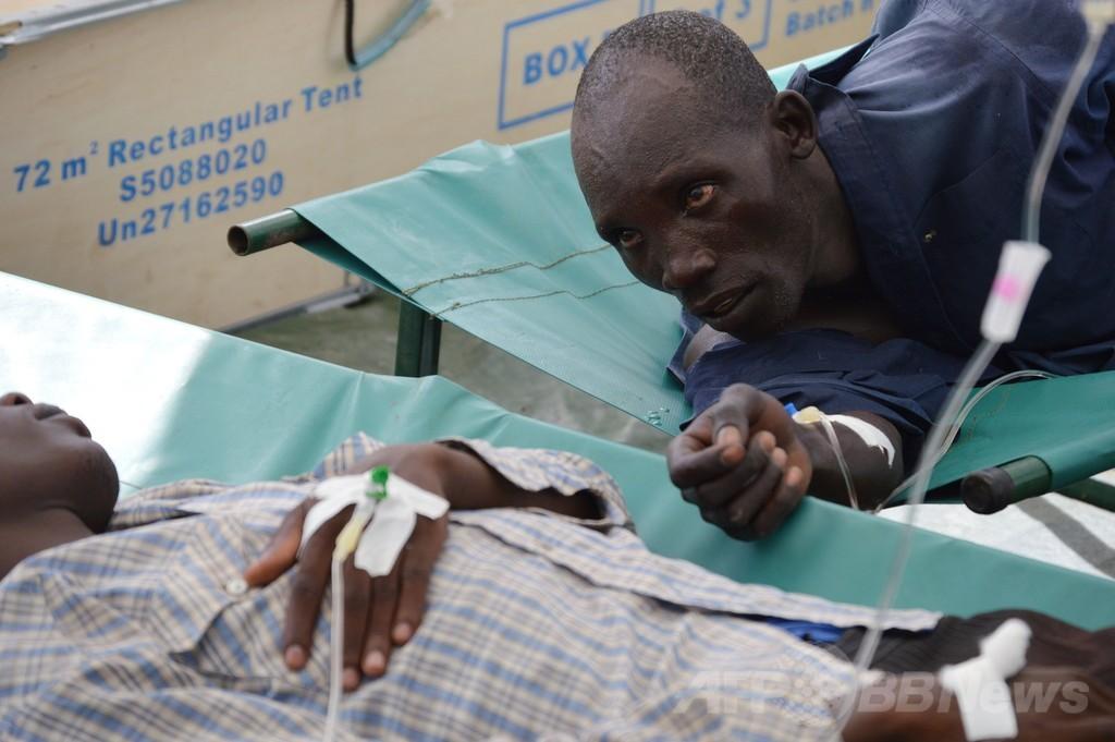 南スーダンでコレラ流行、感染数百人に 死者も WHO