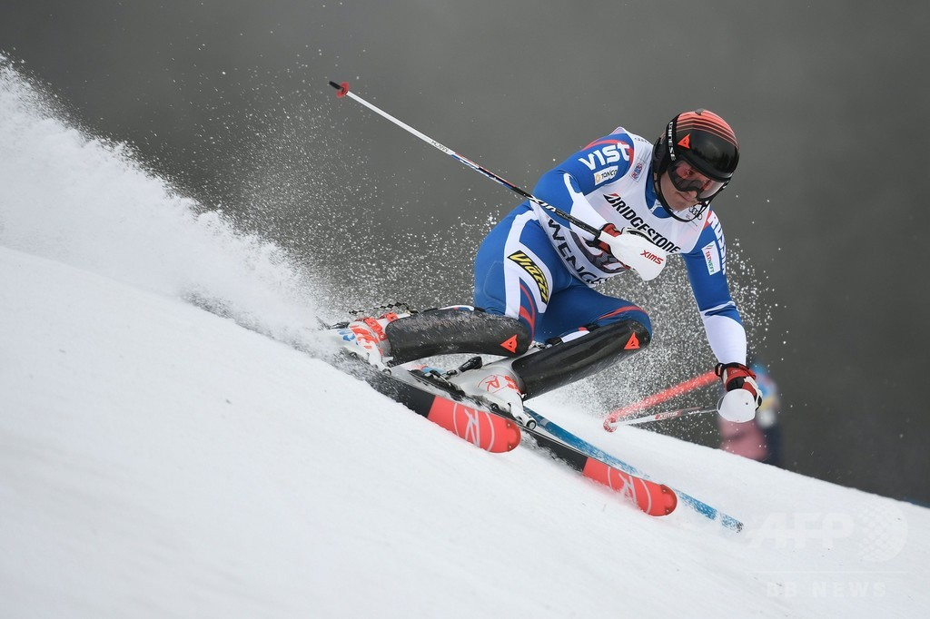 アルペンW杯で2位に入ったロシア選手が母国を擁護、「スキー選手は全員がクリーン」