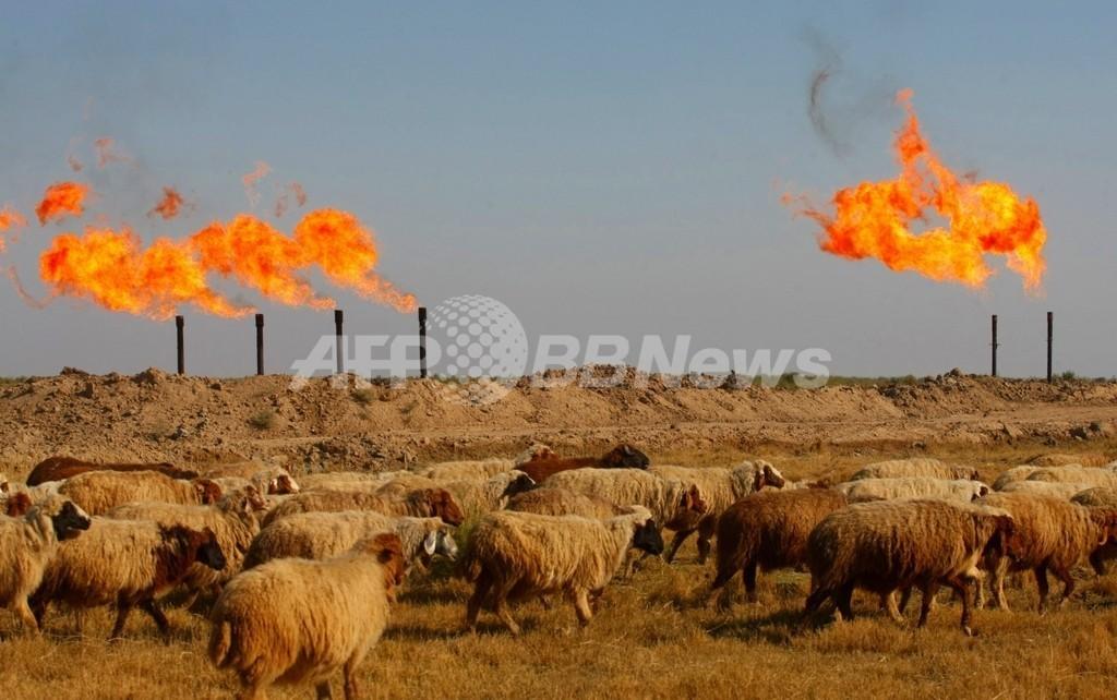 イラン軍、イラク油井から「50メートル」撤退 依然として領内に