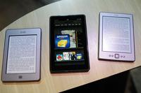 米アマゾン、キンドル向け「オンライン図書館サービス」開始