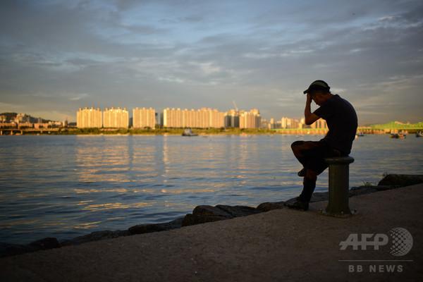 漢江を泳いで北朝鮮入国を試みた米男性を拘束、韓国軍