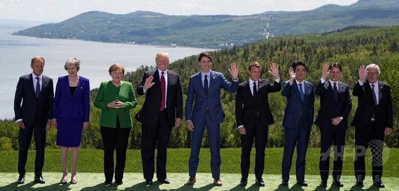 トランプ氏、ロシアのG7復帰呼び掛け 欧州諸国は反対で一致