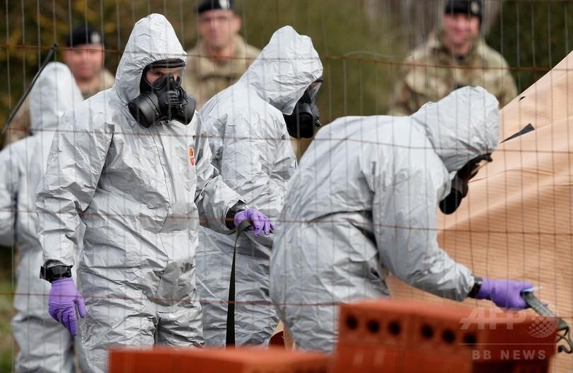 英国、ロシア外交官23人を追放へ 元スパイ襲撃で