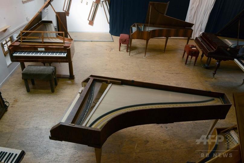 モーツァルトも弾いた「フォルテピアノ」 工房で複製、6000時間で1台