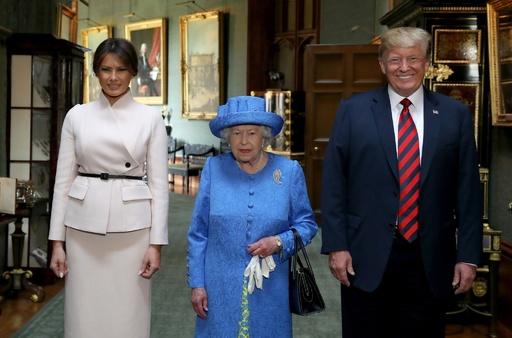 トランプ氏、6月に国賓として英国訪問へ