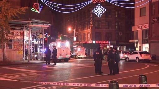 動画:米NY、金属パイプでホームレス襲撃 4人死亡 24歳男を逮捕 現場の映像