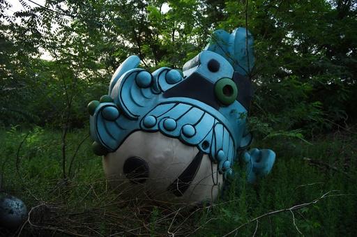 北京五輪の夢の跡、捨てられたマスコットたち 中国