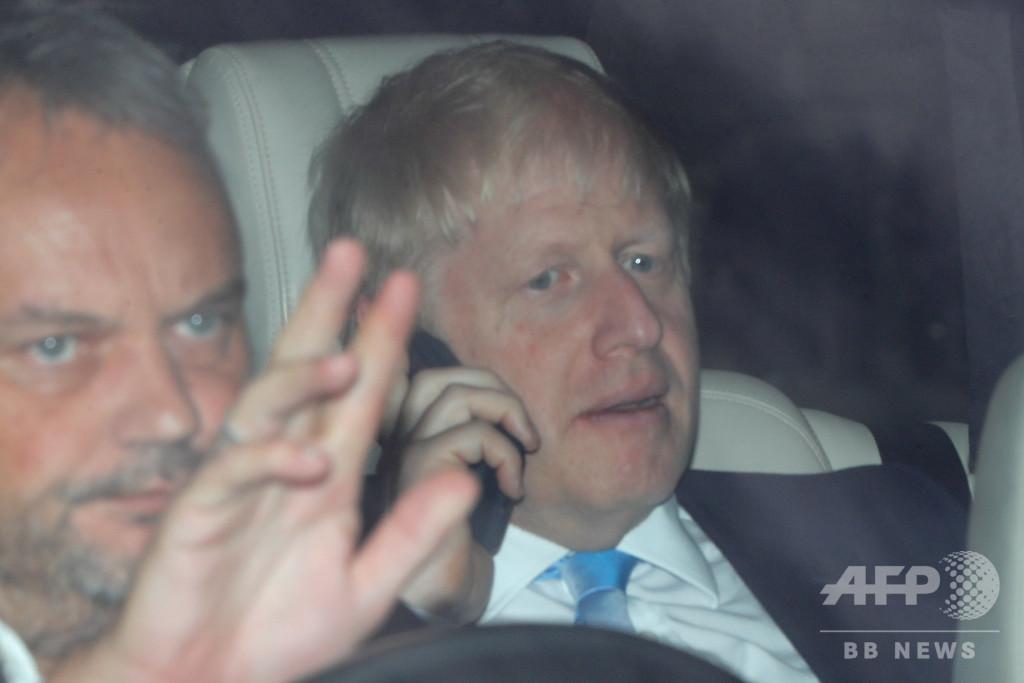 英首相候補ジョンソン氏の自宅から叫び声、交際相手と口論か 警察出動
