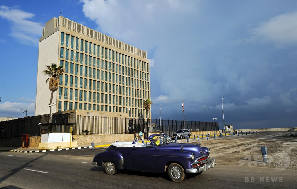 カナダ外交官もキューバで聴力低下、音響装置による攻撃か?