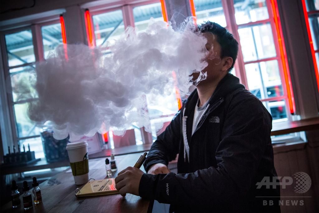 世界の電子たばこ市場、3000億円規模に