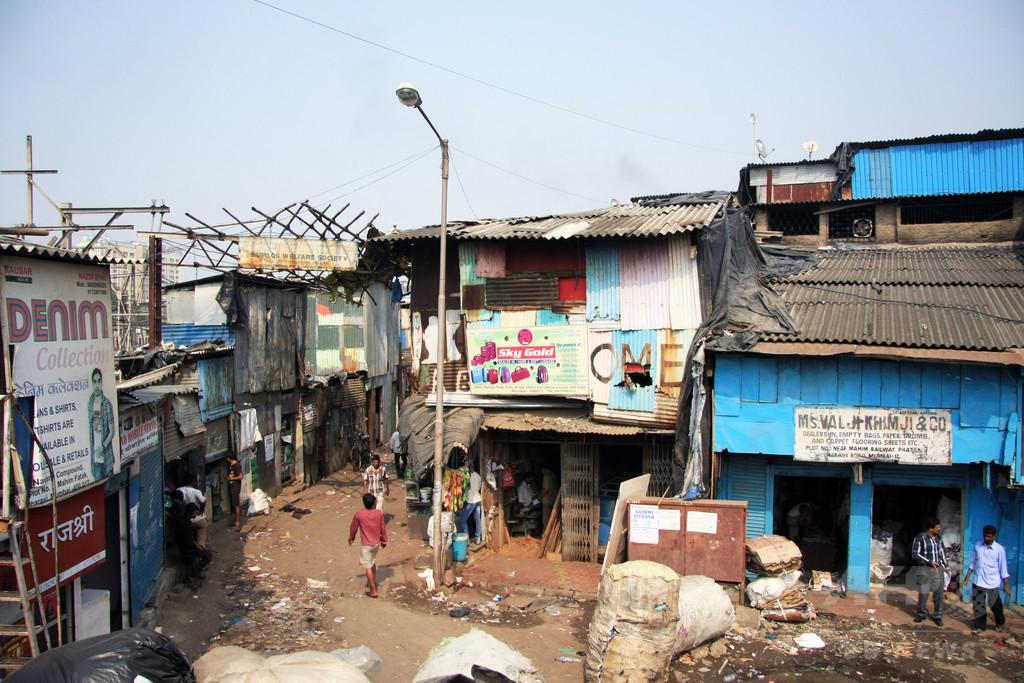 世界初の「スラム街博物館」、インド・ムンバイに誕生へ