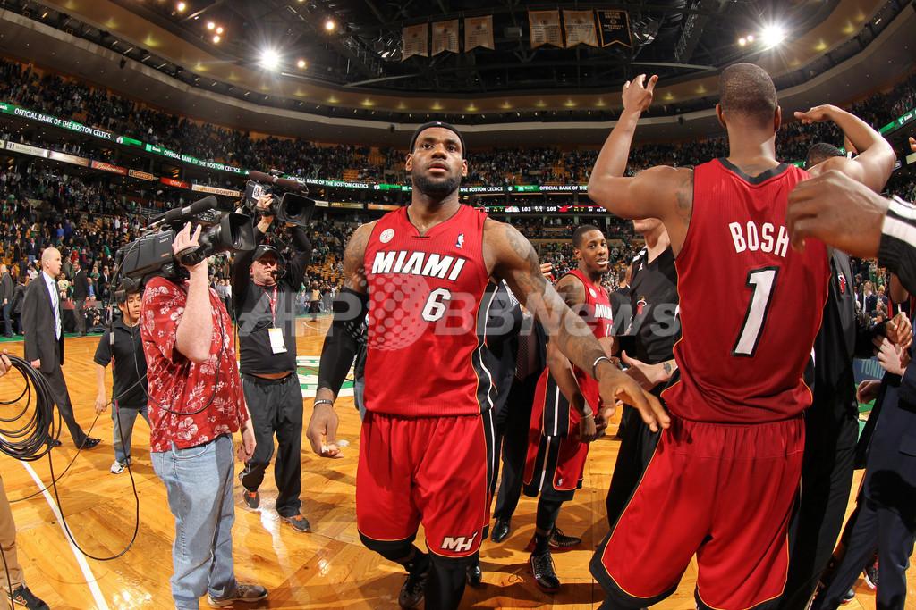 ヒート、NBA歴代単独2位の23連勝