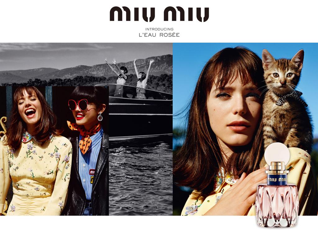 「ミュウミュウ」春の訪れを感じさせるフレッシュな新作フレグランスがデビュー