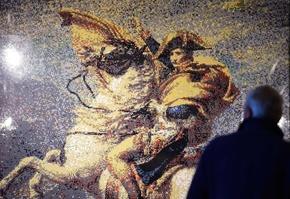 「ワーテルローの戦い」200年、ナポレオンの生涯をレゴで再現