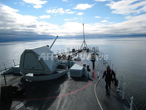 カナダが北極海域に軍事施設、ロシアをけん制
