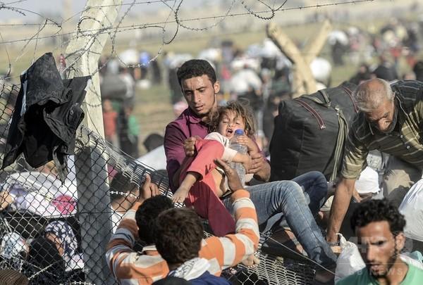 世界の避難民ら、14年は過去最多の5950万人 国連
