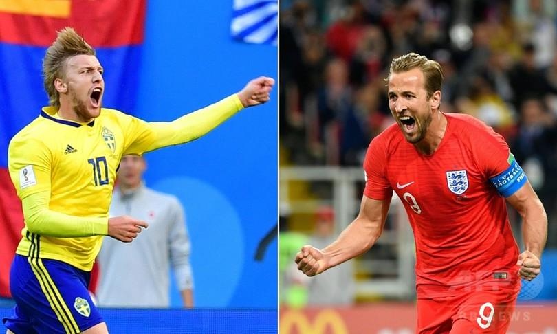 スウェーデン対イングランドの先発発表、イングランドは変更無し