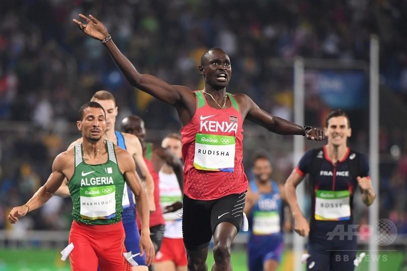 ルディシャが男子800mで五輪連覇...