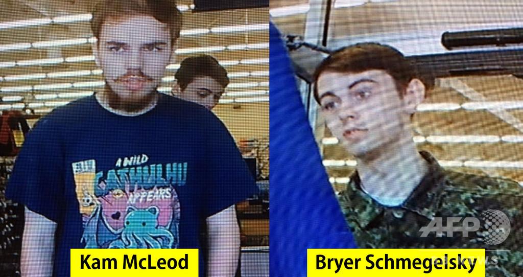 カナダで発見の2遺体、3人殺害の10代容疑者と判明 銃で自殺か