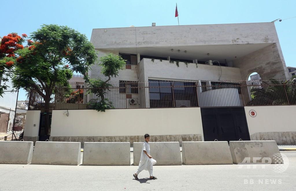 リビアのハフタル氏軍事組織がトルコ人6人を拘束 トルコ政府