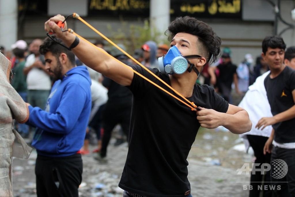 イラク、デモで37人死亡 イラン領事館放火受け政府が弾圧