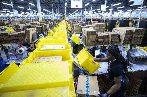 アマゾンの有料会員向け特売「プライムデー」に合わせ従業員がスト、待遇改善求める