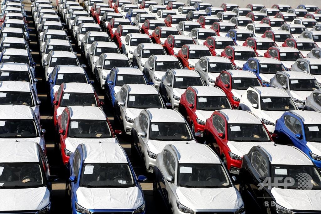 中国の1月の自動車販売数、前年比18%減 ウイルスの影響は限定的
