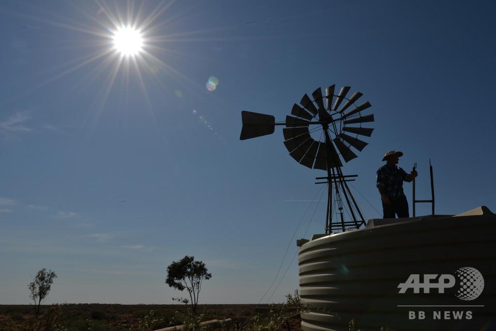オーストラリアの夏、気候変動で長期化 冬の2倍に