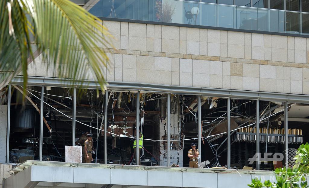 スリランカ連続爆発、主犯格とみられる過激派指導者は死亡