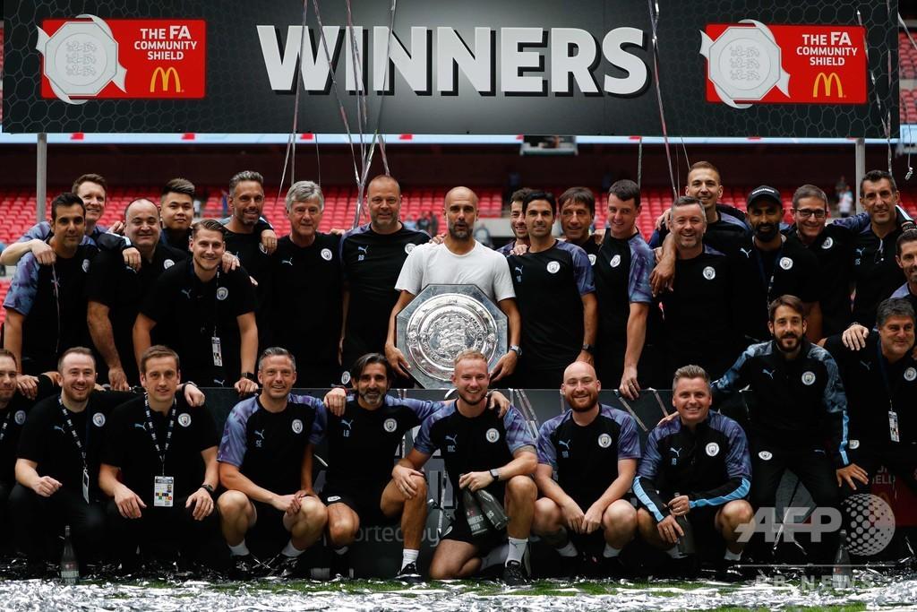 マンCがコミュニティーシールド連覇、リバプールとの頂上決戦でまず一勝