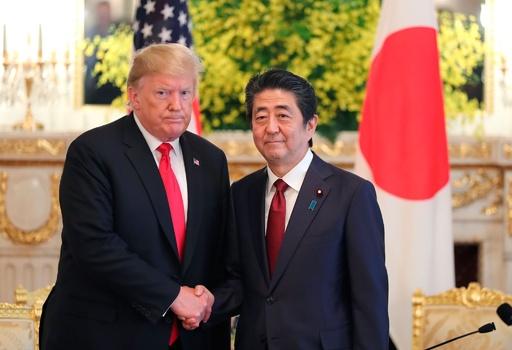 日米首脳会談始まる トランプ氏、対日貿易の不均衡「とてつもなく大きい」