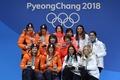 女子団体追い抜き制した日本に金メダル授与、 平昌五輪