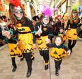 3000人の仮装パレード、川崎