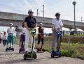 移動支援ロボ「ウィングレット」、公道実証実験開始 つくば市