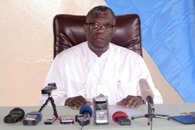 コンゴ政府、ノーベル賞ムクウェゲ氏にくぎ 称賛の一方で「人道と政治の混同」を非難