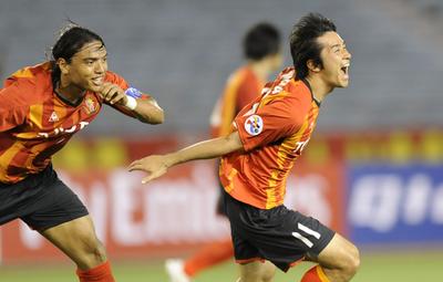 名古屋グランパス 水原に勝利、アジア・チャンピオンズリーグ