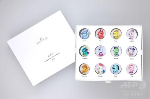 「スワロフスキー×吉井宏」十二支のクリタル・オブジェ、コレクターズボックスも