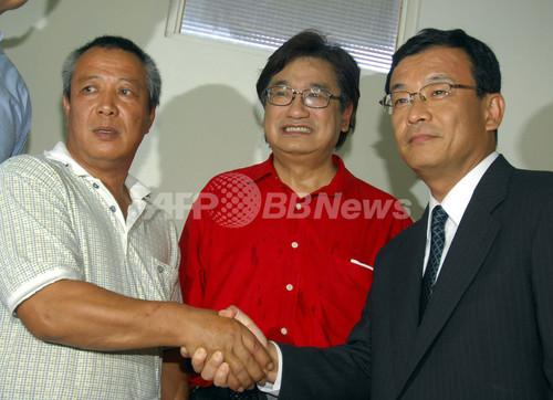 尖閣沖の台湾船沈没事故、日本側が船長に謝罪