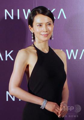 日本美を表現「俄 NIWAKA」新作発表会、中谷美紀も登場