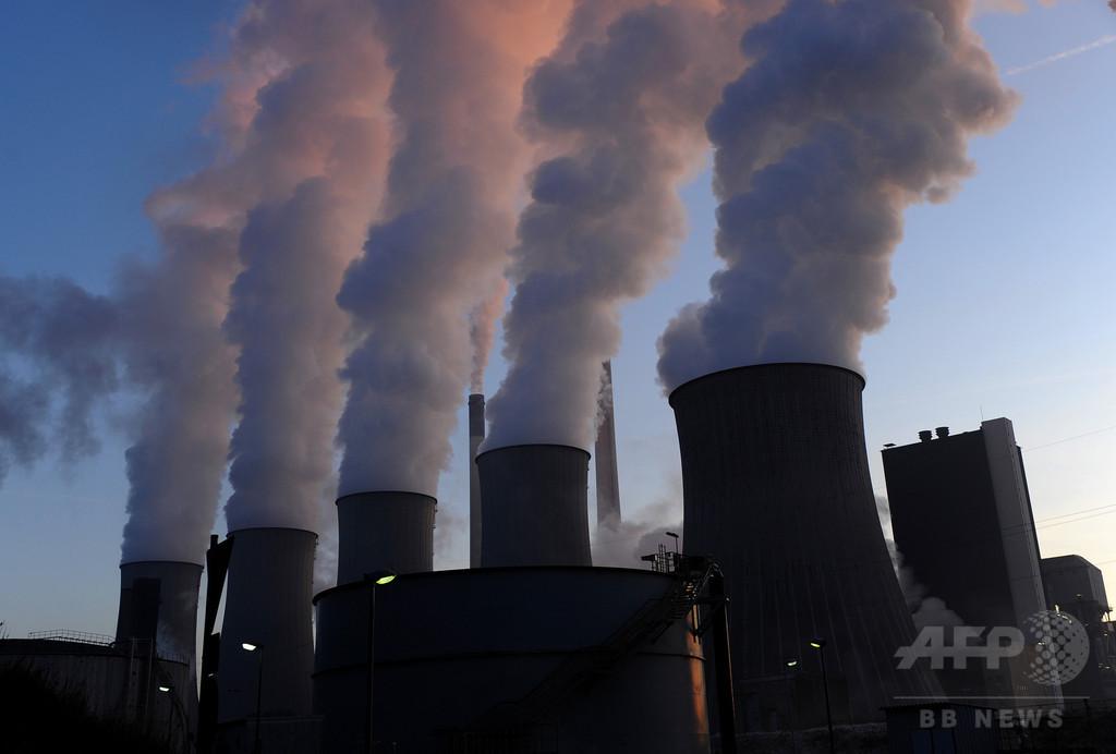 大気中のCO2濃度、記録的な高さに 国連機関が警鐘