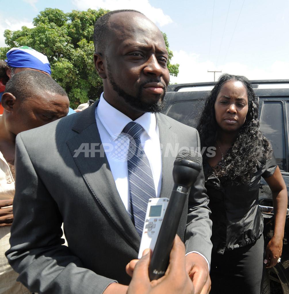 米歌手ワイクリフ・ジョン、ハイチ大統領選への立候補認められず