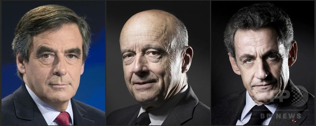 サルコジ氏、仏大統領選レースから脱落 右派陣営2元首相が決選投票に
