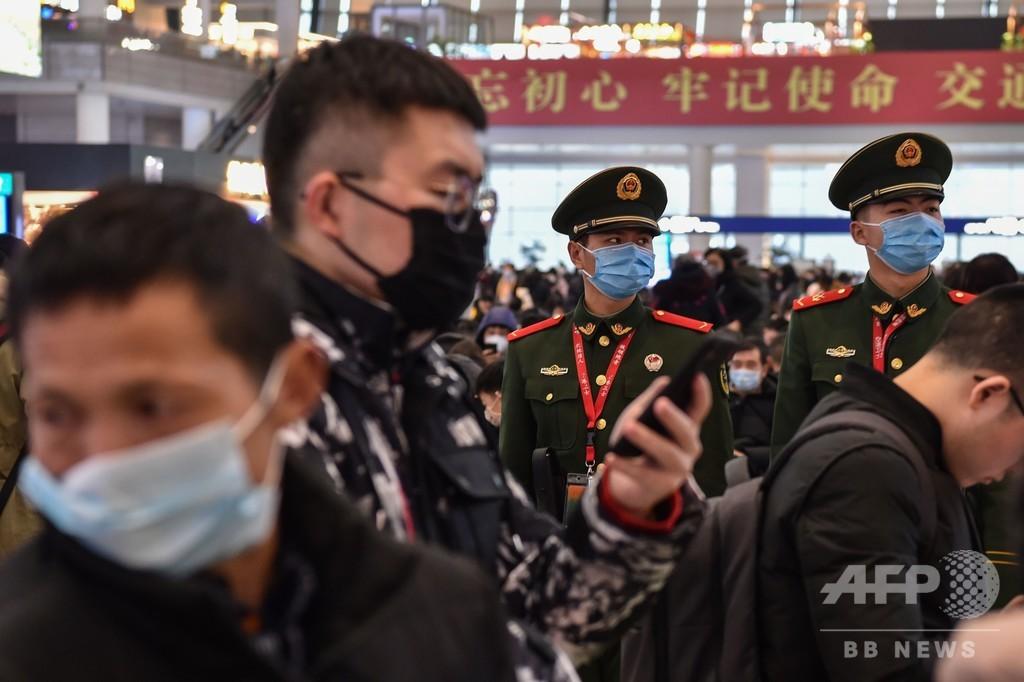 中国新型ウイルス、中心地外で初の死者 さらに2か国で感染者