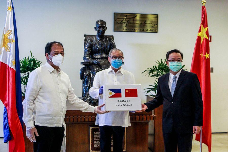 中国、新型コロナと闘うフィリピンにさらなる医療物資を寄贈