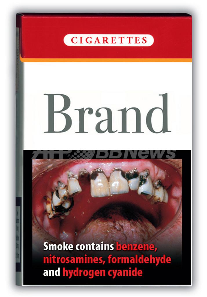 たばこの箱に生々しい「警告写真」、EU