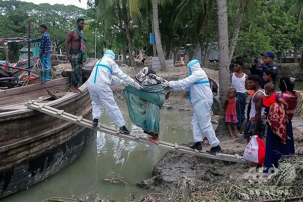 インドとバングラに近年最強級のサイクロン接近、数百万人避難へ