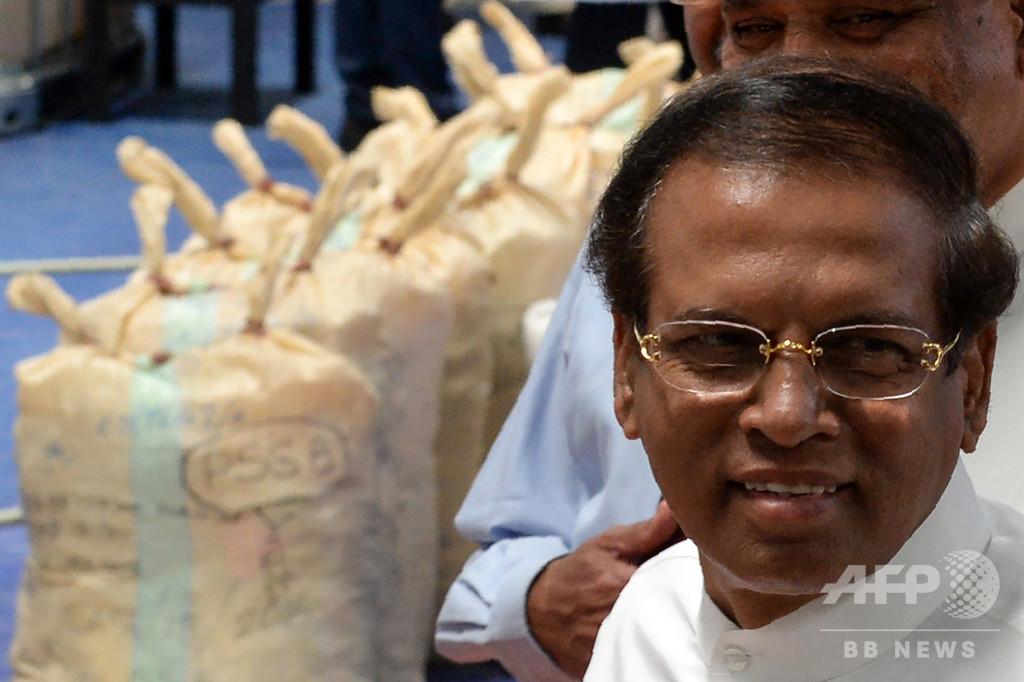スリランカ大統領、米との軍事協定拒否の意思
