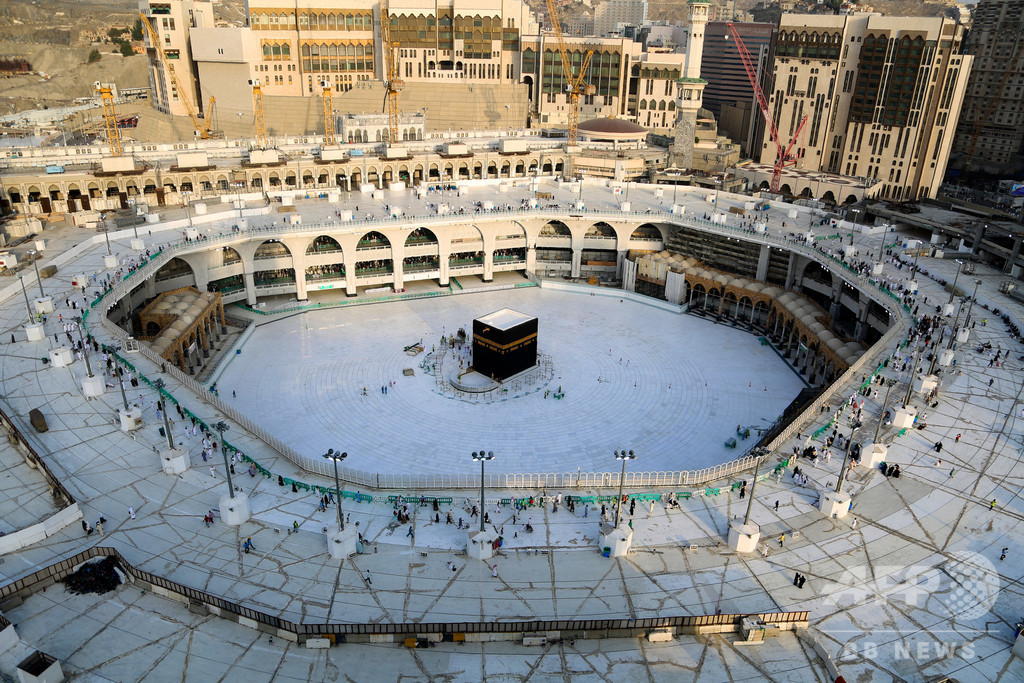サウジ、イスラム教の大巡礼を「大幅制限」 新型コロナ影響 写真5枚 ...