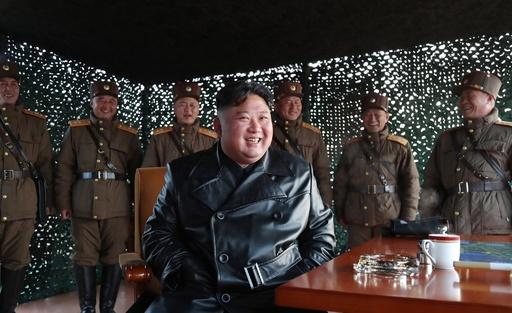 北朝鮮、日本海に向け飛翔体発射